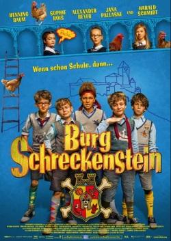 """Die Kino-Plakat von """"Burg Schreckenstein"""" (© Concorde Filmverleih)"""