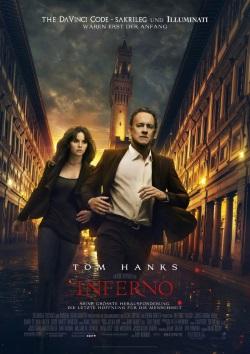 "Das Kino-Plakat von ""Inferno"" (© Sony Pictures Germany)"