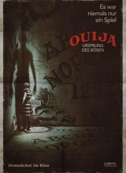 """Das Kino-Plakat zu """"Ouija - Ursprung des Bösen"""" (© Universal Pictures Germany)"""