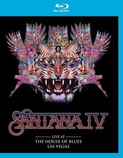 "Das Blu-ray-Cover von ""Santana IV - Live at the House of Blues, Las Vegas (© Edel, Eagle Vision)"