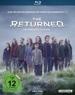 """Das Blu-ray-Cover der zweiten Staffel von """"The Returned"""" (© StudioCanal)"""