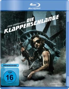 """Das Blu-ray-Cover von """"Die Klapperschlange"""" (© Constantin Film)"""