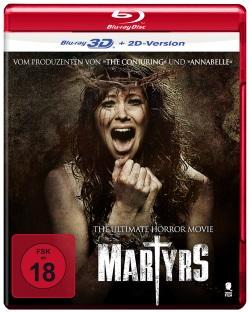 """Das Cover der 3D Blu-ray von """"Martyrs"""" (© Tiberius Film)"""