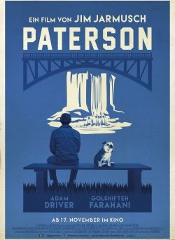"""Das Kino-Plakat von """"Paterson"""" (© Weltkino)"""