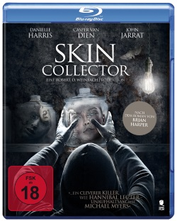 """Das Blu-ray-Cover von """"Skin Collector"""" (© Tiberius Film)"""
