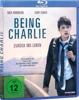 """Das Blu-ray-Cover von """"Being Charlie - Zurück ins Leben"""" (© Concorde Home Entertainment)"""