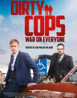 """Das Hauptplakat von """"Dirty Cops - War On Everyone"""" (© Constantin Film)"""