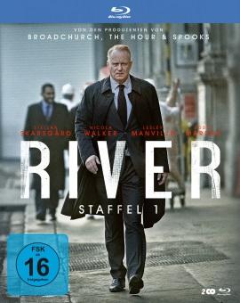 """Das Blu-ray-Cover der ersten Staffel von """"River"""" (© Polyband)"""