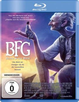 """Das Blu-ray-Cover von """"BFG"""" (© Constantin Film)"""