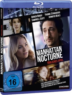 "Das Blu-ray-Cover von ""Manhattan Nocturne"" (© Concorde Home Entertainment)"
