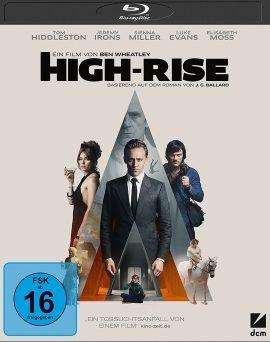 """Das Blu-ray-Cover von """"High-Rise"""" (© DCM)"""