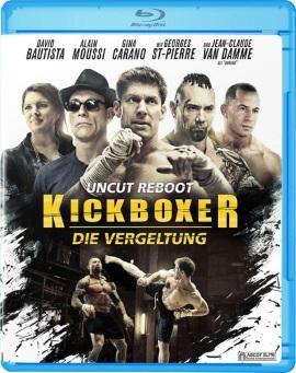 """Das Blu-ray-Cover von """"Kickboxer - Die Vergeltung"""" (© Ascot Elite)"""