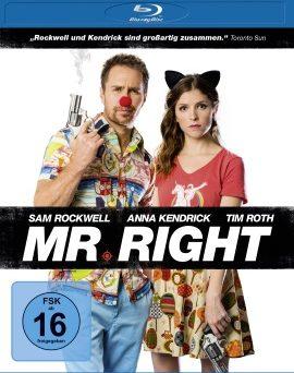 "Das Blu-ray-Cover von ""Mr. Right"" (© Universum Film)"