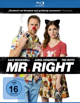 "Das Blu-ray-Cover von ""Mr. Right"" (© Universum Film)"