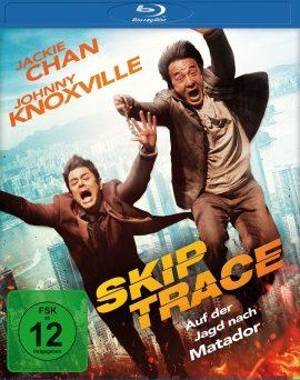 """Das Blu-ray-Cover von """"Skiptrace"""" (© Universum Film)"""