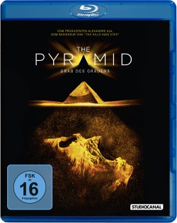 "Das Blu-ray-Cover von ""The Pyramid"" (© StudioCanal)"
