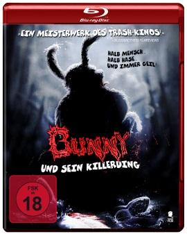 "Das Blu-ray-Cover zu ""Bunny und sein Killerding"" (© Tiberius Film)"