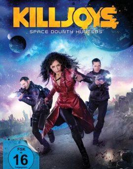 """Das Blu-ray-Cover der zweiten Staffel von """"Killjoys"""" (© Pandastorm Pictures)"""