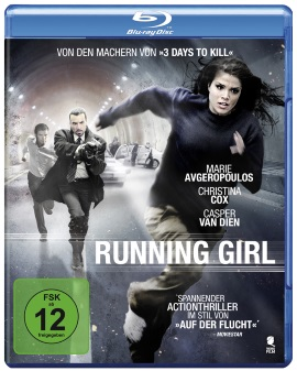 "Das Blu-ray-Cover von ""Running Girl"" (© Tiberius Film)"