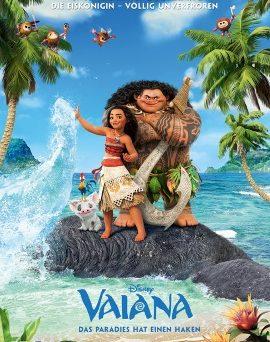 """Das Hauptplakat von """"Vaiana"""" (©2016 Disney. All Rights Reserved.)"""