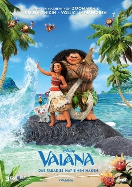"Das Hauptplakat von ""Vaiana"" (©2016 Disney. All Rights Reserved.)"