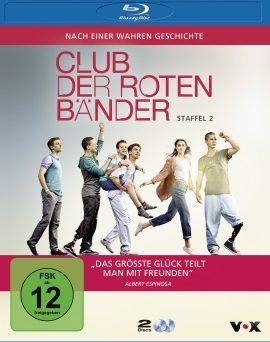 """Das Blu-ray-Cover der zweiten Staffel von """"Club der roten Bänder"""" (© Universum Film)"""