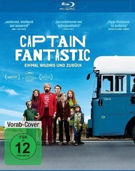 """Das Blu-ray-Cover von """"Captain Fantastic - Einmal Wildnis und zurück"""" (© Universum Film)"""