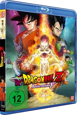 "Das Blu-ray-Cover von ""Dragonball Z - Resurrection F"" (© AV Visionen)"