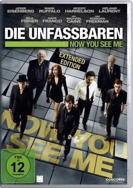 """Das DVD-Cover von """"Die Unfassbaren - Now You See Me"""" (© Concorde Home Entertainment)"""