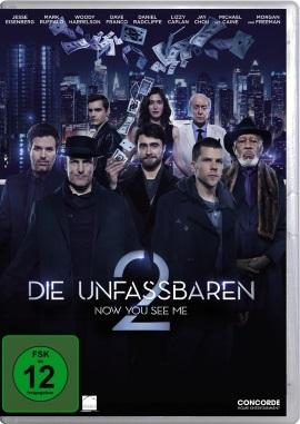 """Das DVD-Cover von """"Die Unfassbaren - Now You See Me 2"""" (© Concorde Home Entertainment)"""