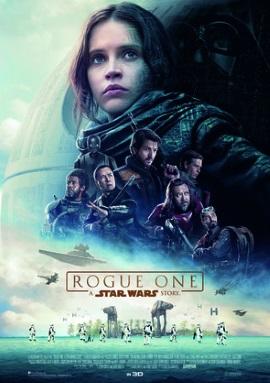 """Das Hauptplakat von """"Rogue One - A Star Wars Story"""" (© Disney Deutschland)"""