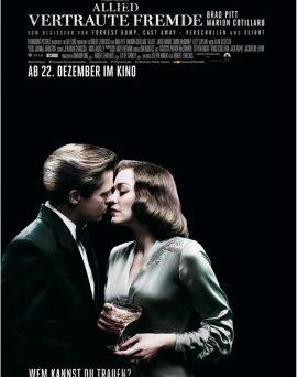 """Das Plakat von """"Allied - Vertraute Fremde"""" (© Paramount Pictures)"""