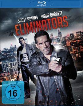 """Das Blu-ray-Cover von """"Eliminators"""" (© Universum Film)"""