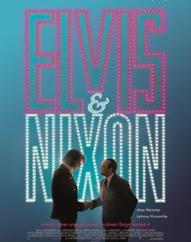 """Das Kino-Plakat von """"Elvis & Nixon"""" (© Universum Film)"""