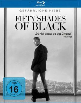 "Das Blu-ray-Cover von ""Fifty Shades of Black"" (© Universum Film)"