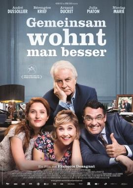 """Das Kinoplakat von """"Gemeinsam wohnt man besser"""" (© Alamode Film)"""