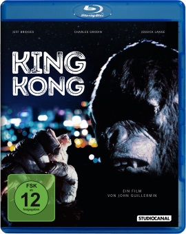 "Das Blu-ray-Cover von ""King Kong"" (© StudioCanal)"