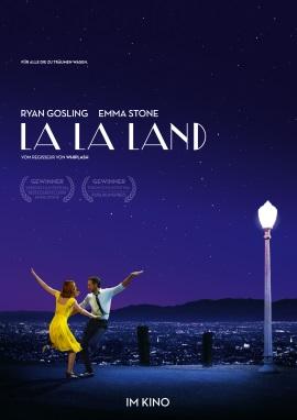 "Das Hauptplakat von ""La La Land"" (© StudioCanal)"