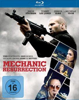 "Das Blu-ray-Cover von ""Mechanic Resurrection"" (© Universum Film)"