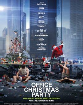 "Das Hauptplakat von ""Office Christmas Party"" (© Constantin Film)"