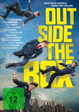"Das DVD-Cover von ""Outside the Box"" (© Universum Film)"