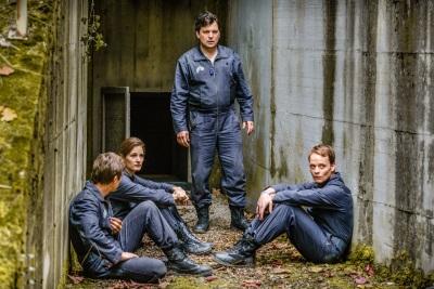 Dieses Quartett wäre besser im Büro geblieben (© Universum Film)