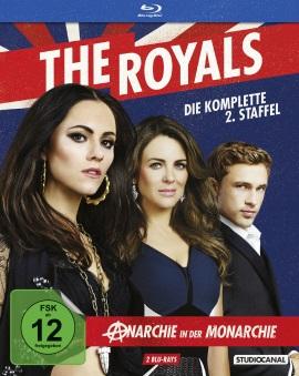 """Das Blu-ray-Cover der zweiten Staffel von """"The Royals"""" (© StudioCanal)"""