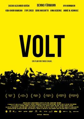 """Das Kino-Plakat von """"Volt"""" (© Felix Gemein_augenschein Filmproduktion GmbH)"""