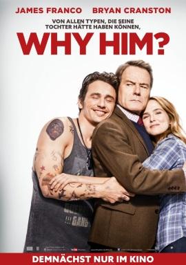 """Das Kino-Plakat von """"Why Him?"""" (© Fox Deutschland)"""