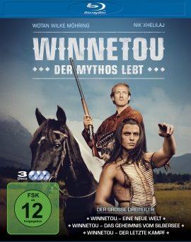 "Das Blu-ray-Cover von ""Winnetou - Der Mythos lebt"" (© Sqare One/Universum Film)"