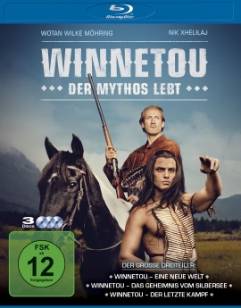 "Das Blu-ray-Cover von ""Winnetou - Der Mythos lebt"" (© Square One/Universum Film)"