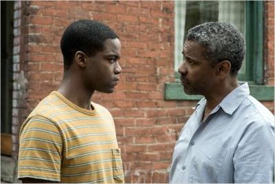 So sieht ein angespanntes Vater-Sohn-Verhältnis aus (© Paramount Pictures Germany)