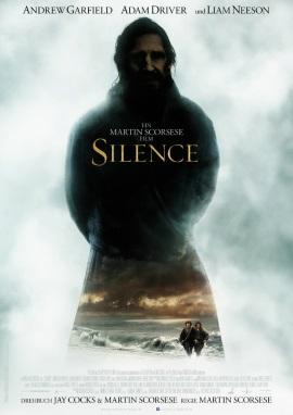 "Das Hauptplakat von ""Silence"" (© Concorde FIlm)"