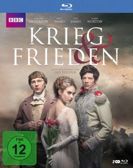 """Das Blu-ray-Cover von """"Krieg & Frieden"""" (© Polyband)"""
